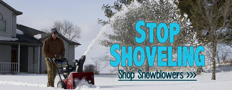 Shop Snowblowers at Mutton Power Equipment