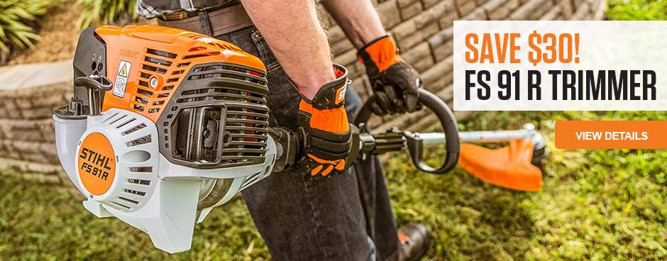 $30 off STIHL FS91R Trimmer