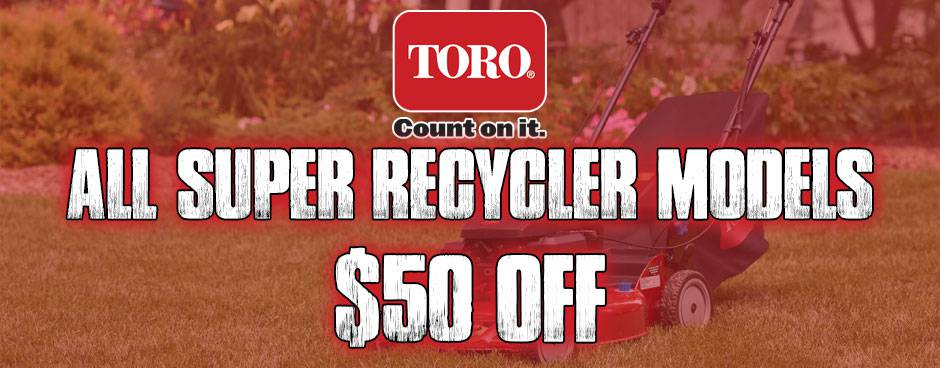 Shop Toro Super Recyclers at MuttonPower.com