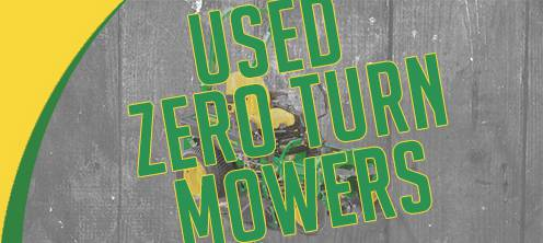 Used Zero Turn Mowers for sale at Mutton Power Equipment