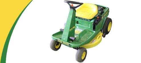 RX75 john deere rx75 lawn mower parts