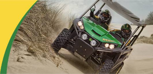John Deere RSX 850i Recreational Gator Utility Vehicles For Sale