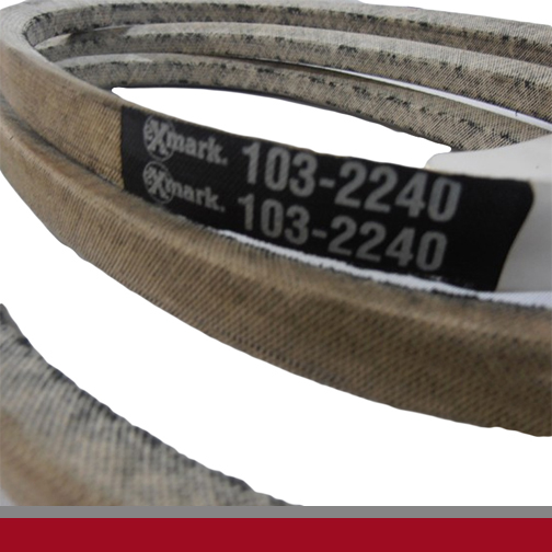 exmark mower belts