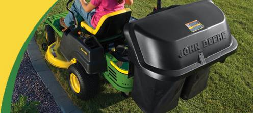 Riding Lawn Mower Grass Catchers, Baggers and Material Collection Systems for sale