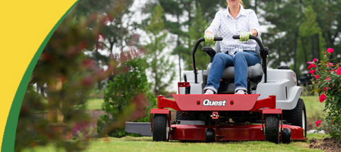 Exmark Quest Residential Zero Turn Lawn Mowers for sale