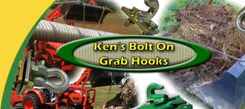 Ken's Bolt On Grab Hooks