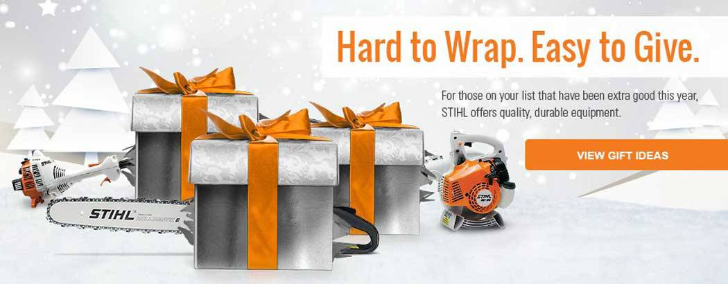 Find the perfect gift this holiday season with the STIHL Gift Guide