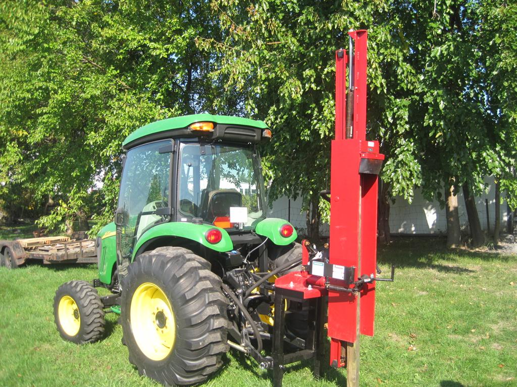 Hydraulic Post Drivers For Tractors : John deere fence post driver autos