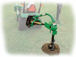 Post Hole Diggers and Auger Attachments for John Deere Tractors