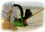 Wood Chipper Attachments for John Deere Tractors