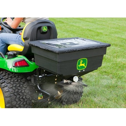 John Deere Select Series Electric Spreader for sale by Mutton Power Equipment