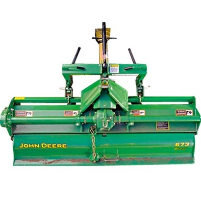 John Deere 673 Rotary Tiller for Sale at Mutton Power Equipment