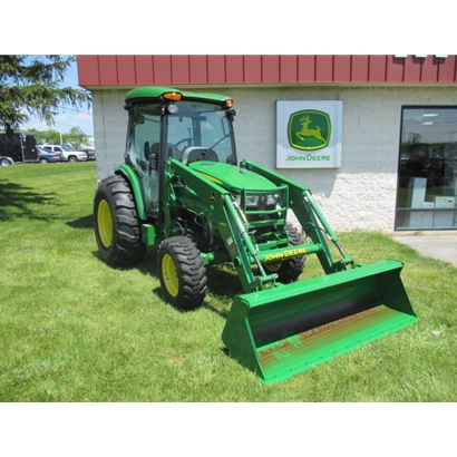 John Deere 4052R Cab Utility Tractor