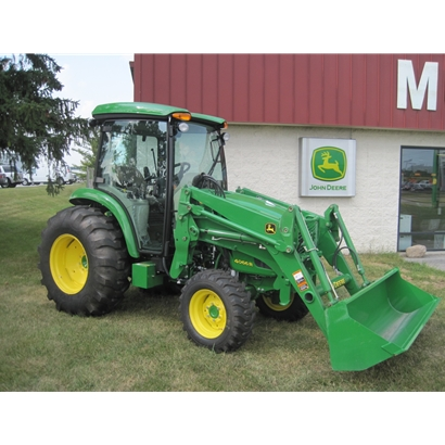 John Deere 4066R Compact Utility Cab Tractor