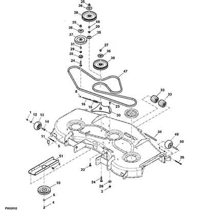 John Deere Z225 Parts Diagram further T12726012 Need wiring diagram john deere 165 as well John Deere Lt150 Belt Diagram further John Deere 650 Wiring Diagram as well La175 Mower Deck Diagram. on wiring diagram john deere x500 lawn tractor