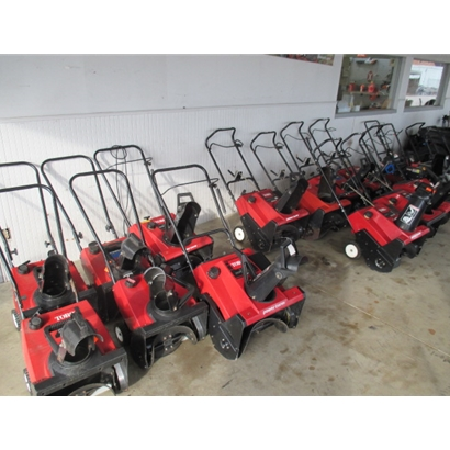 Used Snowblower Inventory