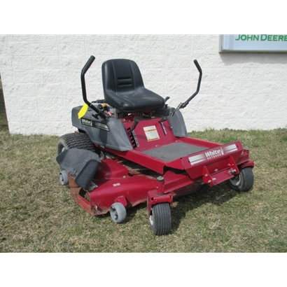 Used White Riding Lawn Mower