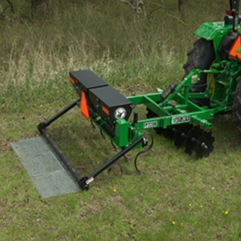 Tractor Implements And Attachments : Frontier quot pull behind food plot seeder fp p