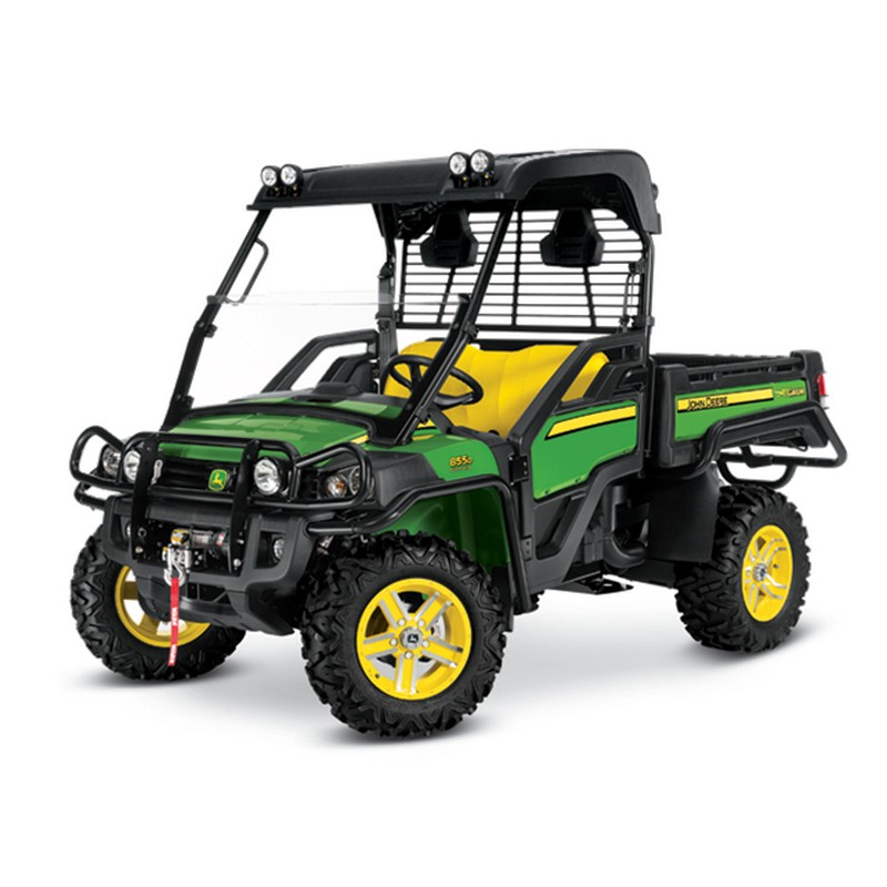 john deere xuv 855d 4x4 gator utility vehicle mutton power. Black Bedroom Furniture Sets. Home Design Ideas