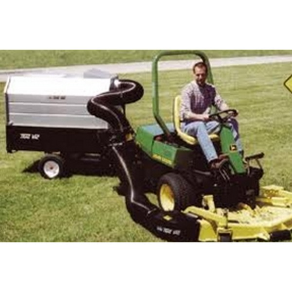 Trac-Vac 865 Front Mower Leaf Collection System
