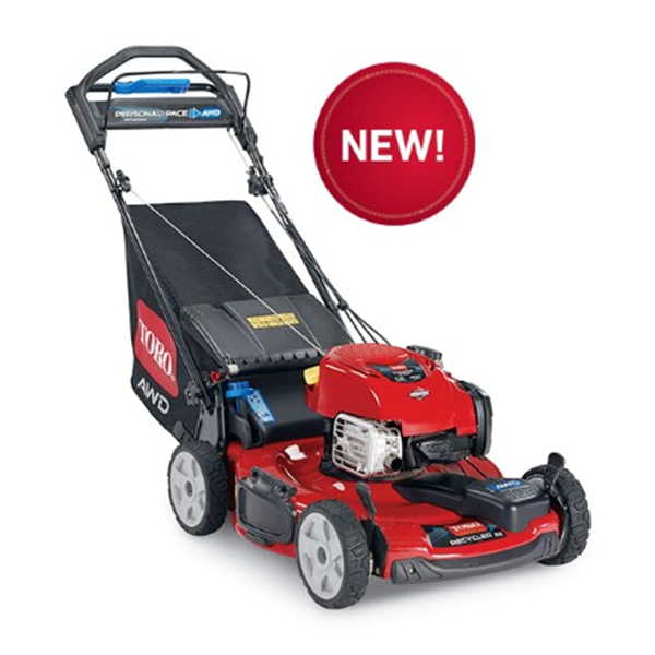 Toro All Wheel Drive Recycler 22 Personal Pace Walk Behind Lawn Mower