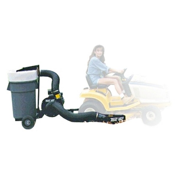 Trac-Vac 385 leaf collection system