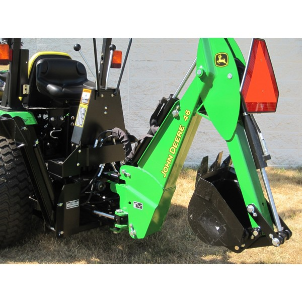 John Deere Backhoe Attachment >> John Deere 46 Backhoe Attachment Mutton Tractor Attachments