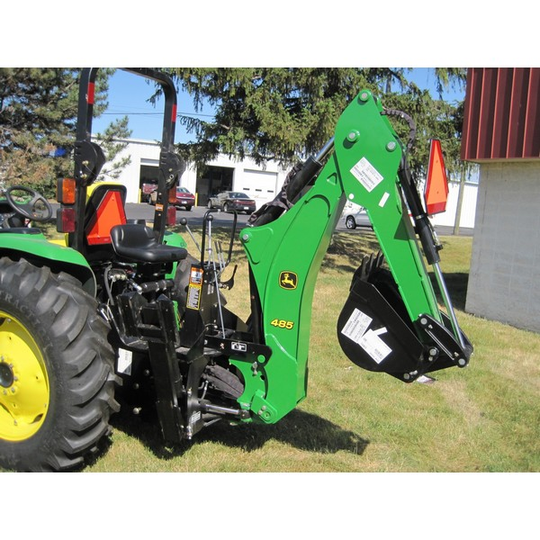 John Deere Backhoe Attachment >> John Deere 485 Backhoe Mutton Tractor Attachments Fort Wayne In