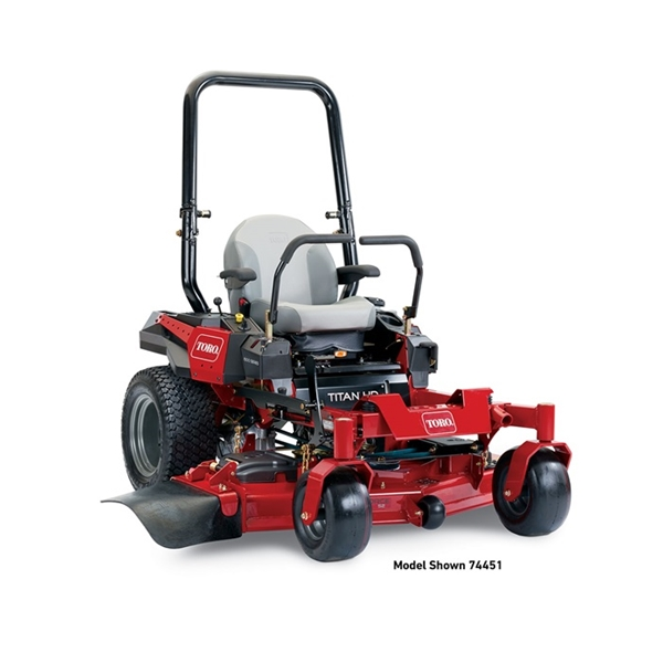 Toro 60 inch Titan HD 1500 Zero Turn Mower (74452)