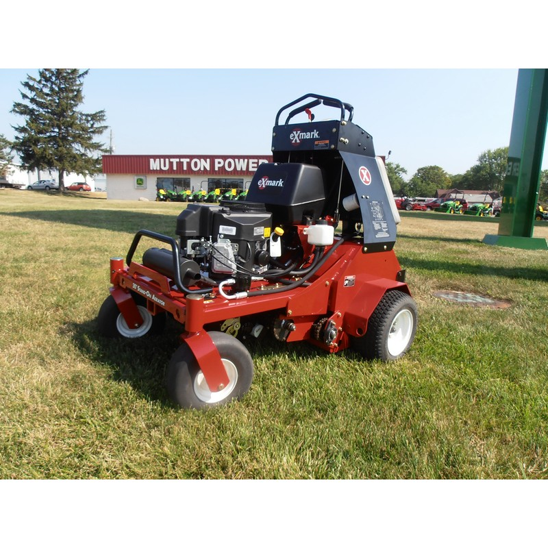 exmark stand on mower. exmark stand on aerator (arx481cka30000). zoom mower