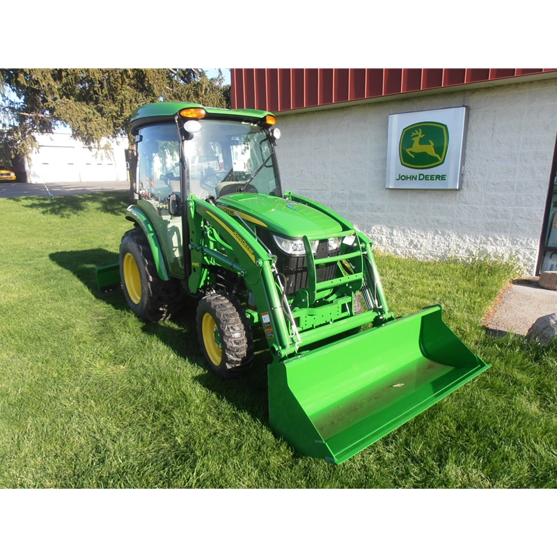 John Deere 3046R Cab Compact Utility Tractor