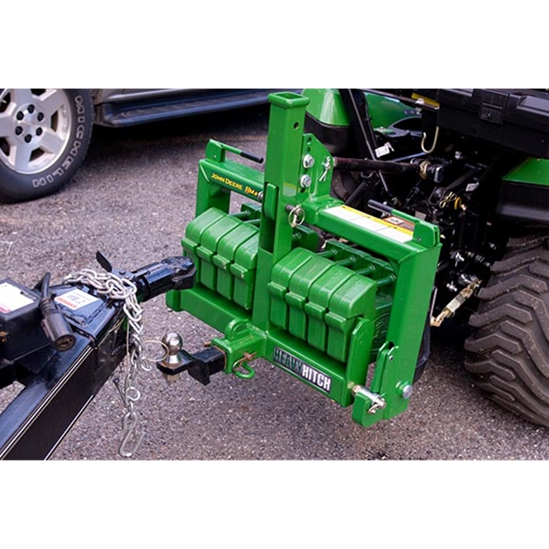 Limited Category 1 3 Point Hitch : Heavy hitch cat receiver and suitcase weights