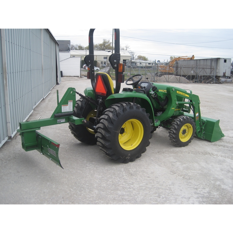 Small Tractors With Loaders : John deere e compact utility tractor loader