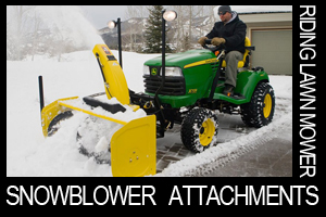 Rear and Front Mounted Snowblowers
