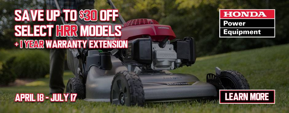 Shop Honda Lawn Mowers at MuttonPower.com