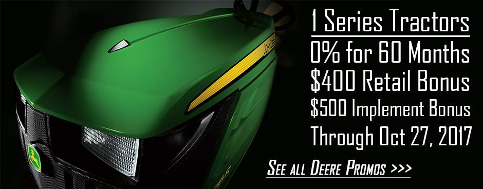 John Deere Promotions at Mutton Power Equipment