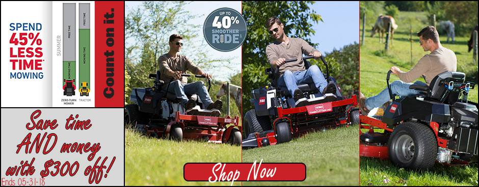 Toro TimeCutter MyRide Promotions at Mutton Power Equipment