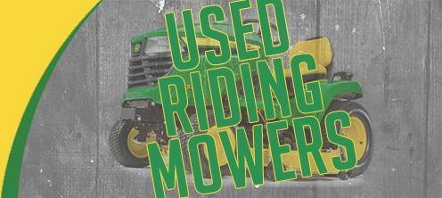 Used Riding Mowers for Sale at Mutton Power Equipment