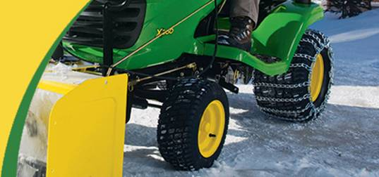 Riding Mower Tire Chains