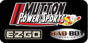 Visit MuttonPowerSports.com for E-Z-GO Golf Carts and Bad Boy Buggies