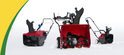 Toro Single Stage and Toro Two Stage Snowblowers for sale