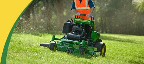 John Deere Quiktrak Stand On Zero Turn Lawn Mowers