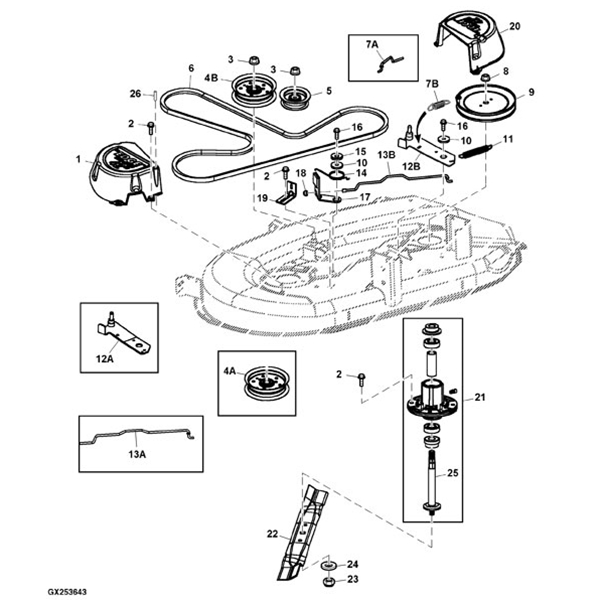 belt diagram d110 d100 mower belt diagram e4 wiring diagram  d100 mower belt diagram e4 wiring diagram