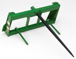 Bale Spear Front Loader Attachments for John Deere Tractors