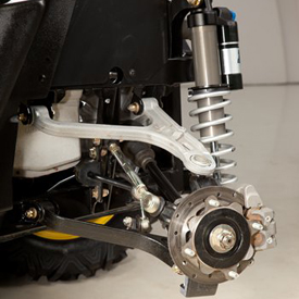 What is the Multi Link Rear Suspension on John Deere RSX850i