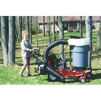 Trac-Vac 470 Walk Behind Collection System