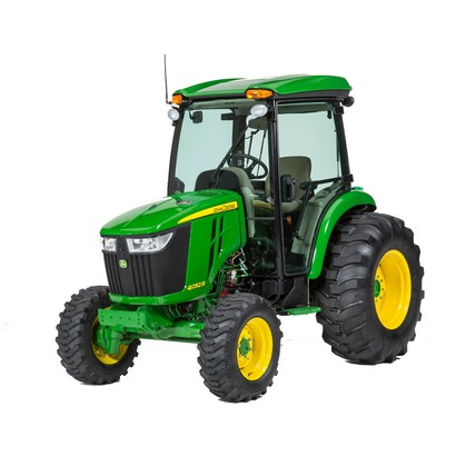 John Deere 4044R Compact Utility Tractor with ComfortGard Cab