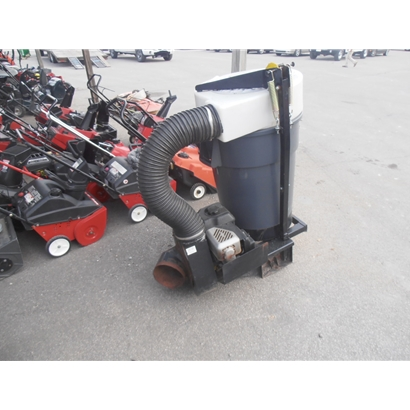 Leaf Removal, Trac Vac Leaf Collection System