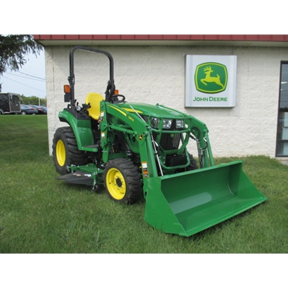John Deere 2038R Compact Utility Tractor at Mutton Power Equipment