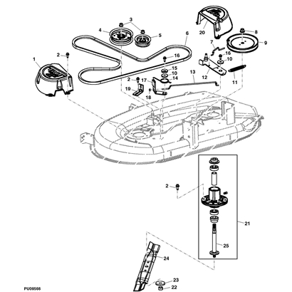 Drive Belt Diagram 18 Hp Sabre John Deere 496144 in addition blank further John Deere X300 Fuse Box in addition P 14278 John Deere La100d100 Gear Transmission Parts Diagram also 52dr5 L110 Tractor Drive Belt Off Pulley. on john deere 102 lawn tractor parts with